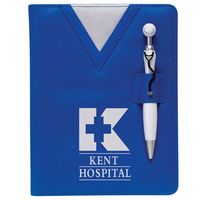 984421431-159 - Swanky™ Scrubs Junior Writing Pad w/Stethoscope Pen - thumbnail