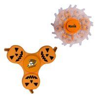 985437375-159 - Pumpkin PromoSpinner® Fidget Toy - thumbnail