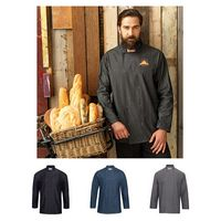 996275281-159 - Artisan Collection by Reprime Unisex Jeans Stitch Chef's Coat - thumbnail