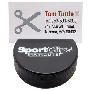 52974227-815 - Hockey Puck Business Card Holder - thumbnail