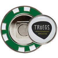 734555638-815 - Metal Poker Chip w/Magnetic Ball Marker - thumbnail