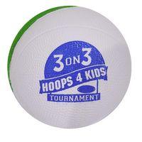 745534015-815 - Two Tone Mini Foam Basketball - thumbnail