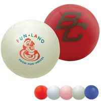 "781385504-815 - Mini Re-inflatable Vinyl Soccer Ball 4"" - thumbnail"