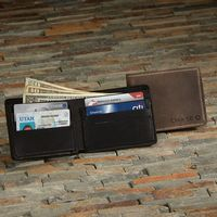 375322466-190 - VULCAN Leather Bi-fold Wallet - thumbnail