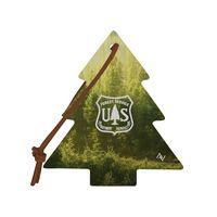 585937621-190 - DARWIN Recycled Dye-Sublimated Felt Tree Ornament - thumbnail