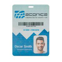 "794566241-190 - Plastic Identification Badge - 4 1/4""x6"" - thumbnail"
