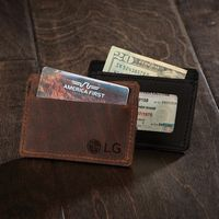 975322460-190 - SLATER Leather Single-Pocket Wallet - thumbnail