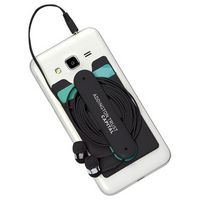 135729973-103 - Silicone Card Wallet and Wired Earbuds - thumbnail