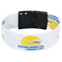 "325450428-103 - Full Color 1"" Wristband w/ Clip - thumbnail"