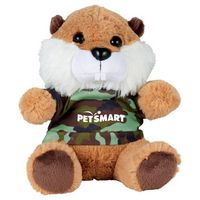 "395156280-103 - 6"" Plush Beaver with Shirt - thumbnail"