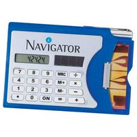 542601137-103 - Business Card Holder with Calculator - thumbnail