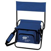 741604601-103 - Folding Insulated 12-Can Cooler Chair - thumbnail