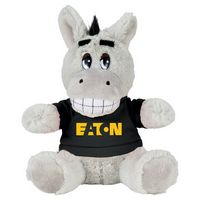 "765156276-103 - 6"" Plush Donkey with Shirt - thumbnail"