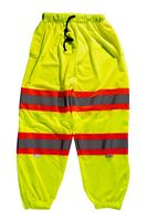 736377634-175 - Xtreme Visibility Value Class E Contrast Stripe Pant Yellow - thumbnail