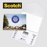 "785531926-125 - Scotch® Custom Full Graphic Cover Printed Lint Sheets Pocket Pack (3""x4"") - thumbnail"