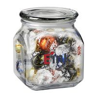 114100085-153 - Contemporary Glass Jar - Lindt® Truffles (20 Oz.) - thumbnail