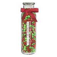 125182932-153 - Glass Hydration Jar - Holiday M&M's® (16 Oz.) - thumbnail
