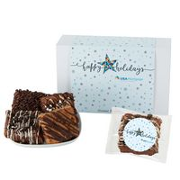 166185085-153 - Fresh Baked Brownie Gift Set - 12 Assorted Brownies - in Gift Box - thumbnail