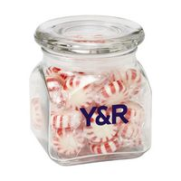 173799958-153 - Contemporary Glass Jar - Starlight Mints (10 Oz.) - thumbnail