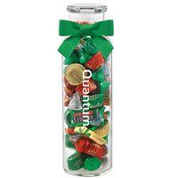 184493615-153 - Glass Hydration Jar - Hershey's Holiday Mix (24 Oz.) - thumbnail
