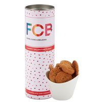 "316195032-153 - 8"" Valentine's Day Snack Tubes - Mini Chocolate Chip Cookies - thumbnail"