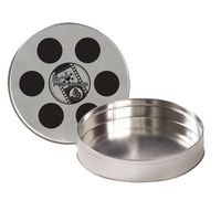 331080731-153 - Large Film Reel Tin - Empty - thumbnail