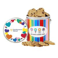 346459279-153 - Dylan's Candy Bar - Valentine's Day Collection - One Gallon Gourmet Cookie Tin - Chocolate Chip - thumbnail