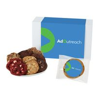 366185083-153 - Fresh Baked Cookie Gift Set - 24 Assorted Cookies - in Gift Box - thumbnail
