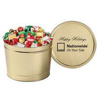 384096321-153 - Hershey's® Holiday Mix in 2 Gallon Tin - thumbnail