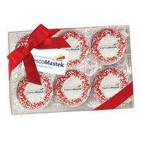 385048305-153 - Elegant Chocolate Covered Printed Oreo® Gift Box - Nonpareil Sprinkles/Printed Cookie (6 pack) - thumbnail