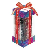 386200363-153 - Dylan's Candy Bar - Valentine's Day- Chocolate Covered Pretzel Rod Treat Container - thumbnail