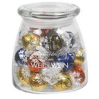 515182864-153 - Vibe Glass Jar - Lindt Truffles (27 Oz.) - thumbnail