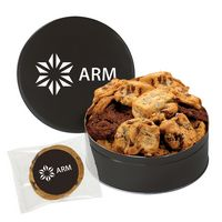 522945722-153 - Extra Large Assorted Snack Tin - Gourmet Cookies - thumbnail