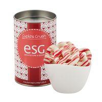 """536194882-153 - 4"""" Valentine's Day Snack Tubes - Valentine's Pretzels - thumbnail"""
