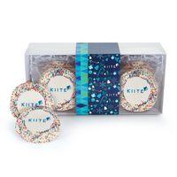 546185041-153 - Custom Sugar Cookie w/ Rainbow Sprinkles in Gift Box (12) - thumbnail