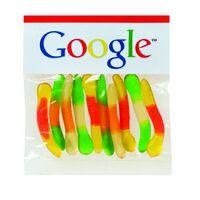 552527353-153 - Gummy Worm in Header Bag (2 Oz.) - thumbnail