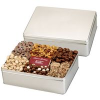 564166679-153 - 6 Way Deluxe Gift Tin with Chocolate Bar - Express Treats Selection - thumbnail
