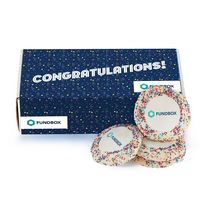 576185051-153 - Custom Sugar Cookie w/ Rainbow Sprinkles in Mailer Box (12) - thumbnail