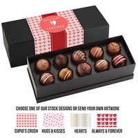 795549311-153 - Valentine's Day 10 Piece Decadent Truffle Box - Assortment 1 - thumbnail
