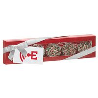 905178930-153 - Luxury Chocolate Covered Oreo® Gift Box - Holiday Nonpareil Sprinkles (5 pack) - thumbnail