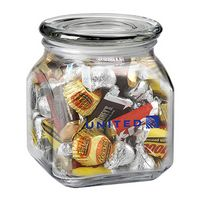 923879591-153 - Contemporary Glass Jar - Hershey's® Everyday Mix (20 Oz.) - thumbnail