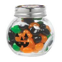 925193725-153 - Cryptic Canister Jar w/ Monster Mix Jelly Belly Jelly Beans - thumbnail