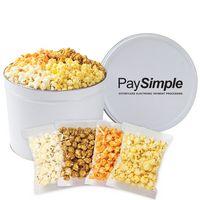 926423593-153 - 4 Way Popcorn Tins - (2 Gallon) - Individually Bagged - thumbnail
