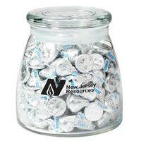 954417665-153 - Vibe Glass Jar - Hershey's Kisses (27 Oz.) - thumbnail