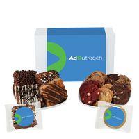 966185087-153 - Fresh Baked Cookie & Brownie Gift Set - 24 Assorted Cookies & Brownies - in Gift Box - thumbnail