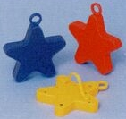 193998082-157 - Heavy-Weight Assorted Star Balloon Weights - thumbnail