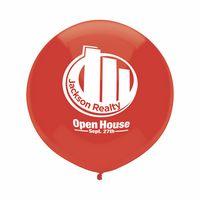 "302008248-157 - 17"" Crystal/Fun Color Outdoor Display Balloon - thumbnail"