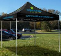 703704411-157 - 10' Square Event Tent Full-Color Dye Sublimation (8 Locations) - thumbnail