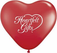 "792550808-157 - 36"" Standard Color Giant Heart Latex Balloon - thumbnail"