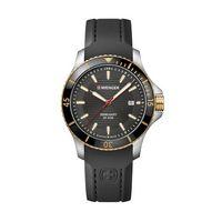 126225794-174 - Two Tone Gray Dial Silicone Strap Watch - thumbnail